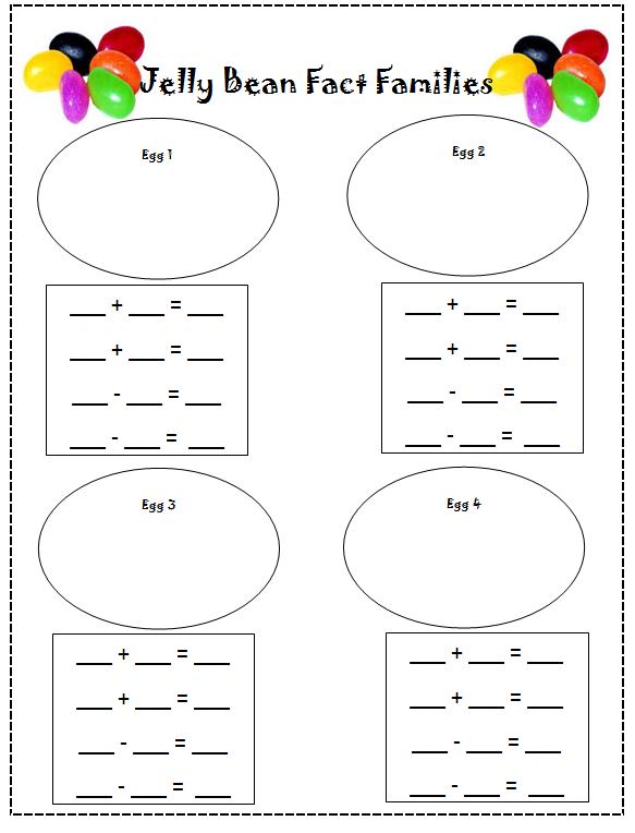 Number Names Worksheets : 2nd grade fact family worksheets ~ Free ...