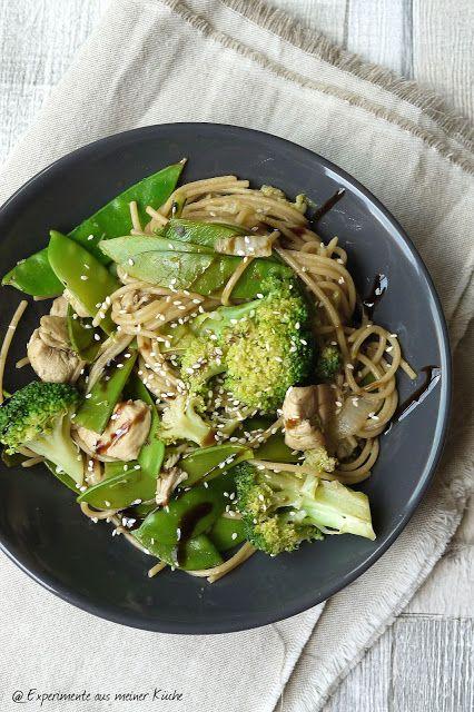Spaghetti-Gemüse-Pfanne {Asia Style}