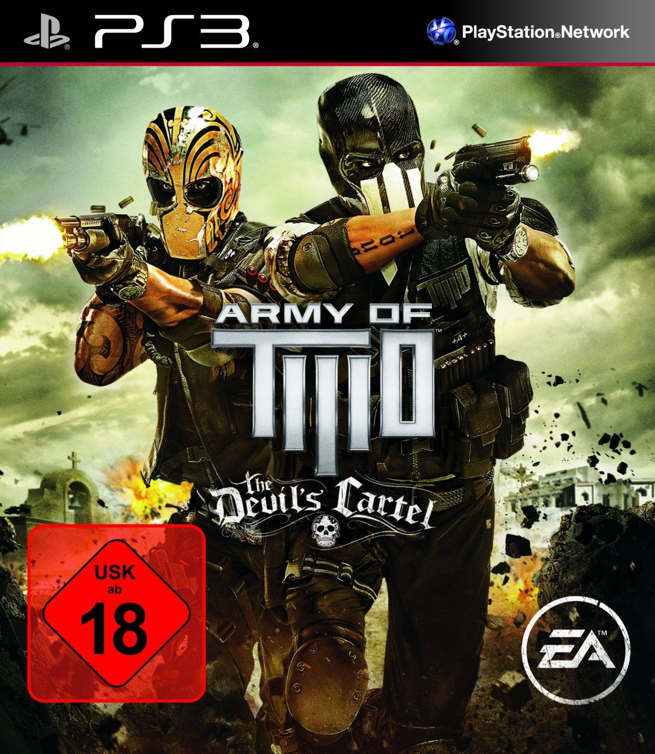 army of two the devil 39 s cartel playstation 3 amazon. Black Bedroom Furniture Sets. Home Design Ideas