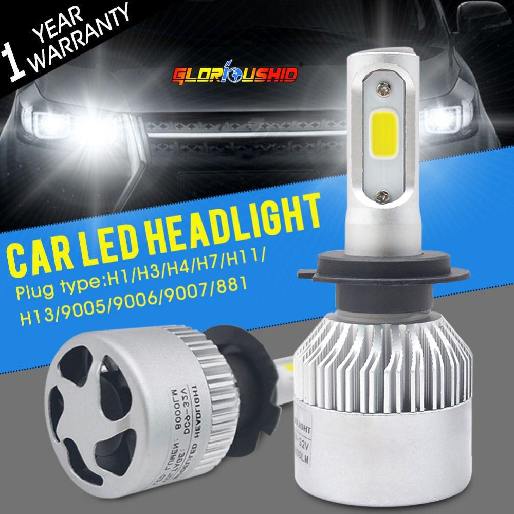 auto car light h7 led h4 h1 h3 h8 h11 h13 9005 9006 9007 881 ledauto car light h7 led h4 h1 h3 h8 h11 h13 9005 9006 9007 881 led headlights 6500k 72w 8000lm automobiles part lamp bulb