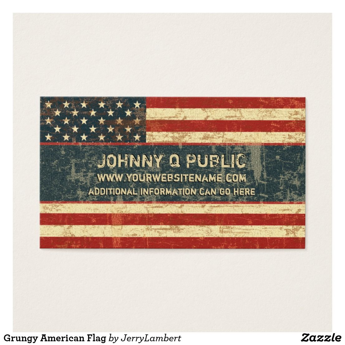 Grungy American Flag Business Card Zazzle Com American Flag Grungy Flag