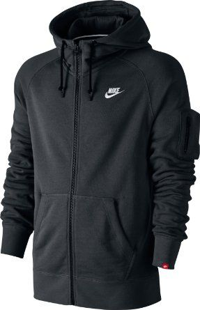 Nike Herren Jacke Nike Aw77 Fleece Logo Hoody Jacket  Amazon.de  Sport    Freizeit c71e75a9d6