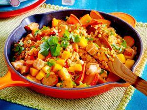 Bratkartoffel-Hähnchen-Auflauf Rezept | LECKER