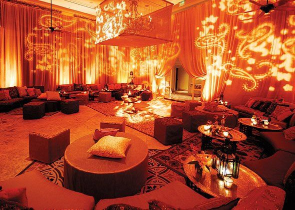 i love the lounge idea for a wedding reception