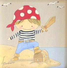 Resultado de imagen de ilustracions infantils de pirates