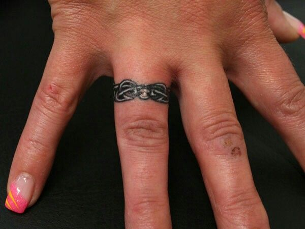 Wedding Band Tattoo | Tattoo Ideas | Pinterest | Wedding band tattoo ...