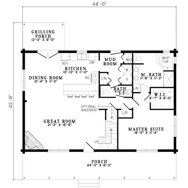 Great House Plan With Mudroom And Stairs To Basement But