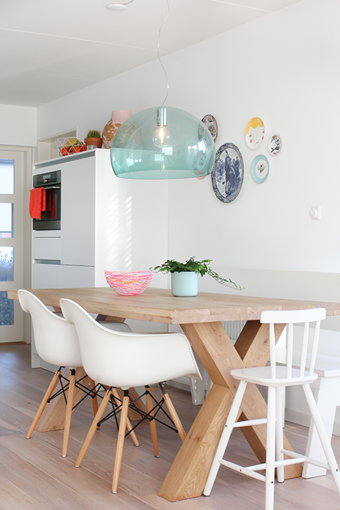 Kartell Fly lamp | Elske | www.elskeleenstra.nl | Kitchen/dining ...