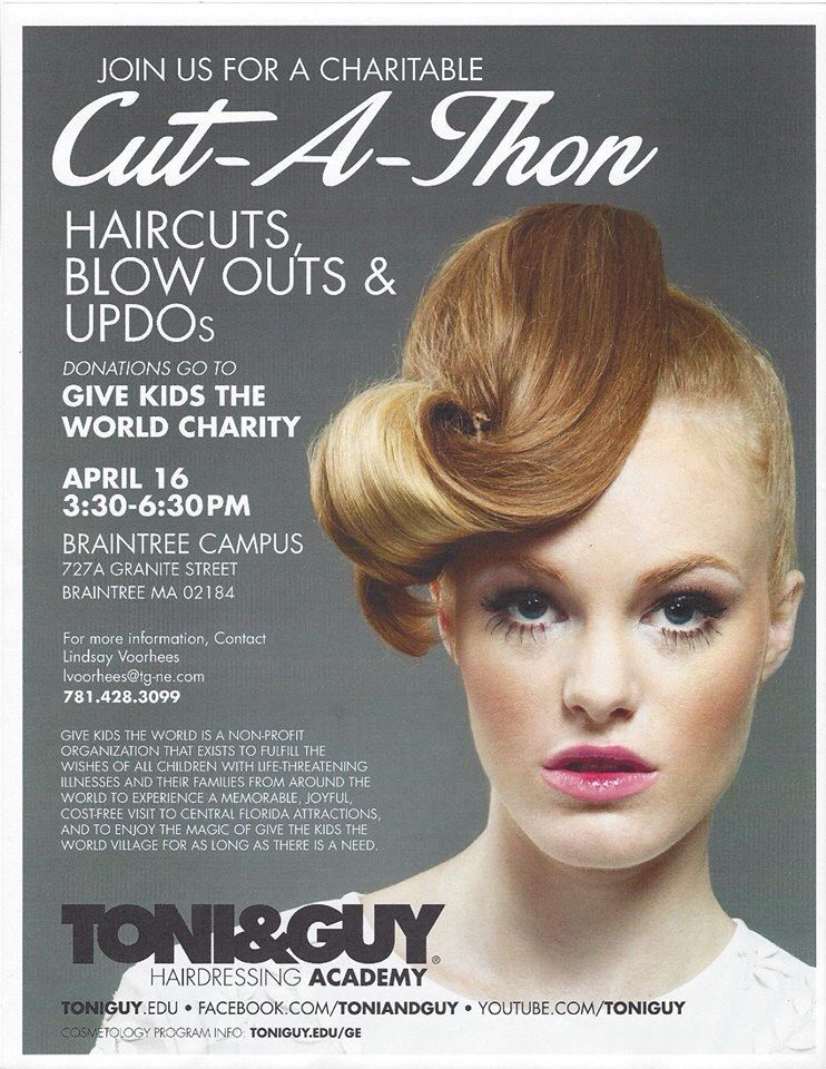 Cut A Thon Toni And Guy Hairdressing Academy Pinterest