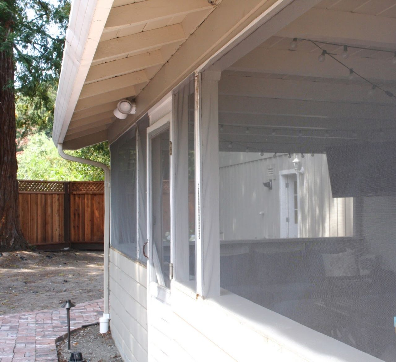 Pull Down Screens for Porch in 2020 Screened in porch
