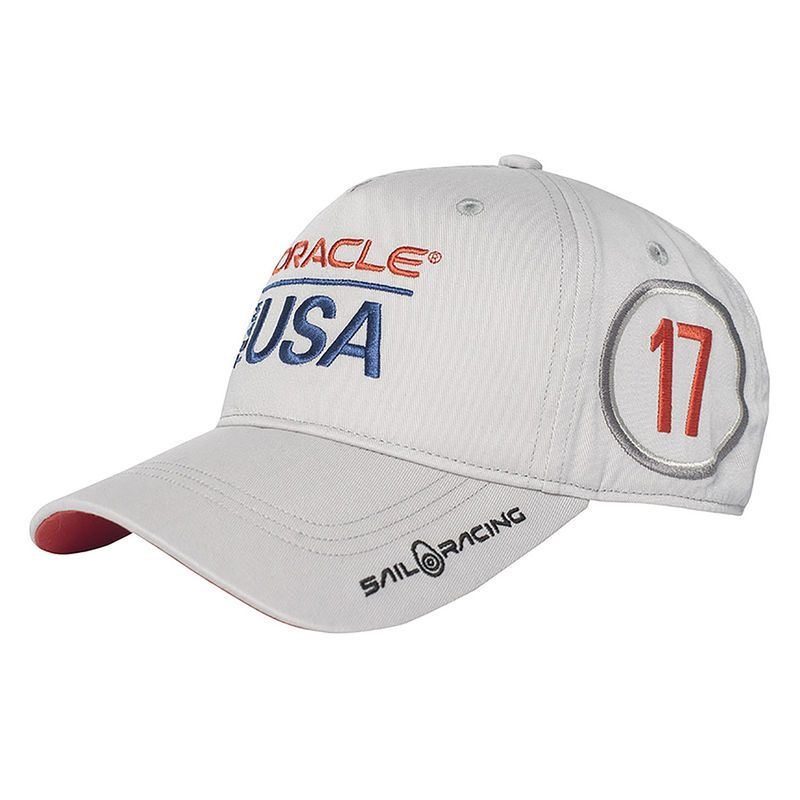 2017 America s Cup Sail Racing Youth Oracle Team USA Adjustable Hat - White ecc34ff9d05
