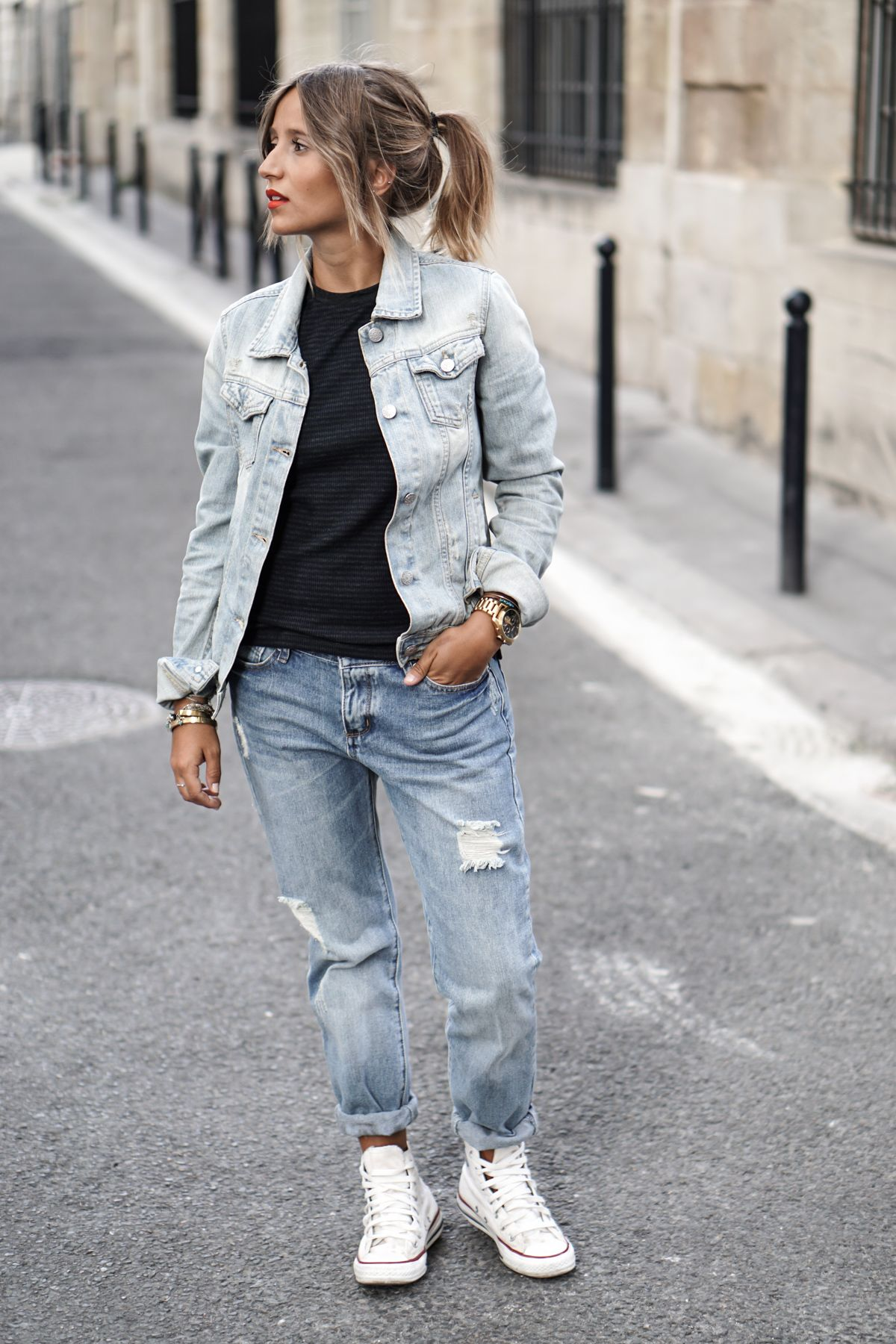 Long Over Due: Our Denim On Denim Trend File Outfits And