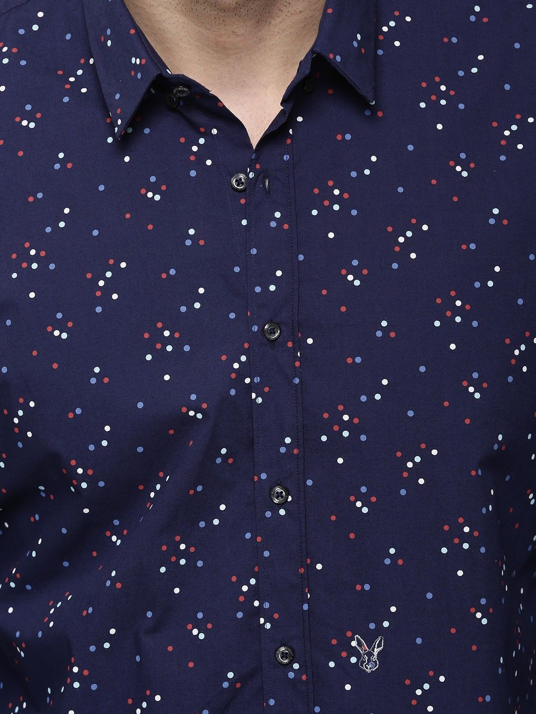 RARE RABBIT | Dot Print Casual Shirt - Buy Men's Casual Shirts ...