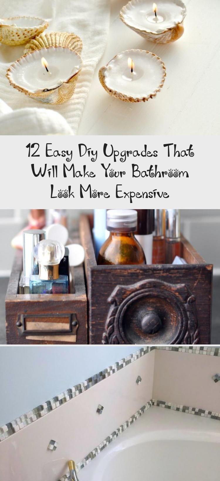Photo of 12 einfache DIY-Upgrades, die Ihr Badezimmer teurer aussehen lassen #EasyDIYBl ….