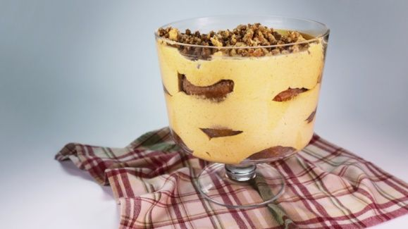 Apple Cider Donut Trifle -- make it a couple of days ahead.