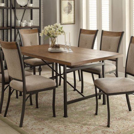 Acme Furniture Zeke Dining Table  Walmart  My Wishing Well Best Dining Room Tables Walmart Design Ideas
