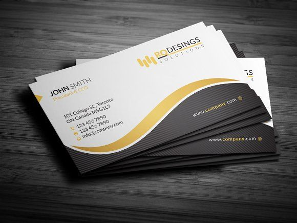 Corporate Business Card 12 Business Cards Card Visite Carte