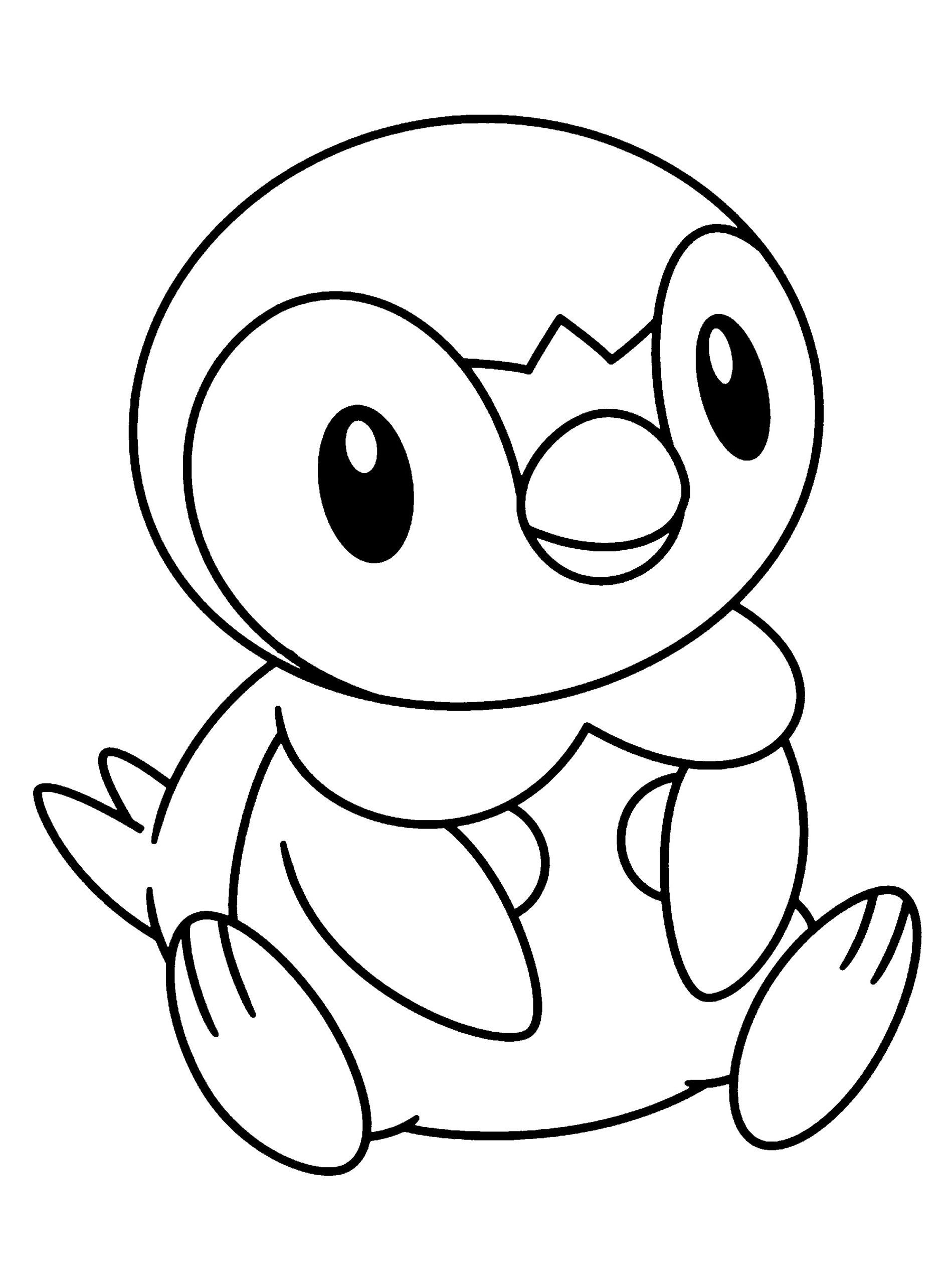 Piplup Pokemon Coloring Page Youngandtae Com Pokemon Coloring Pages Pokemon Coloring Coloring Pages