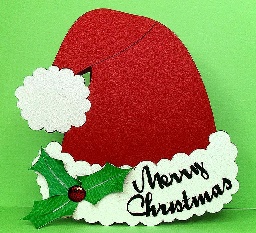 Merry Christmas Texas svg cut files with Hat Options 4