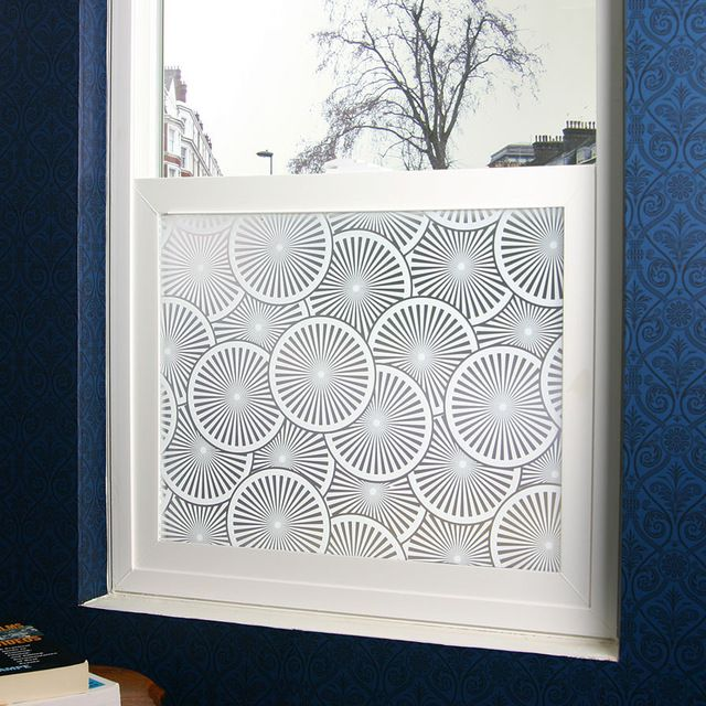 Slice privacy window film large 48 in x 84 in contemporary window