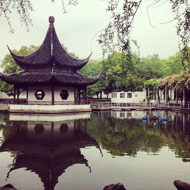 苏州 Suzhou in 江苏 Suzhou, Chinese garden, Photo