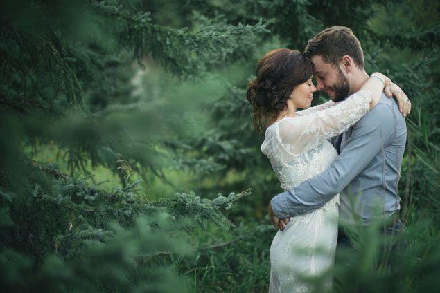 Woodsy Wedding Inspiration | PHOTO SOURCE • KAIHLA TONAI PHOTOGRAPHY