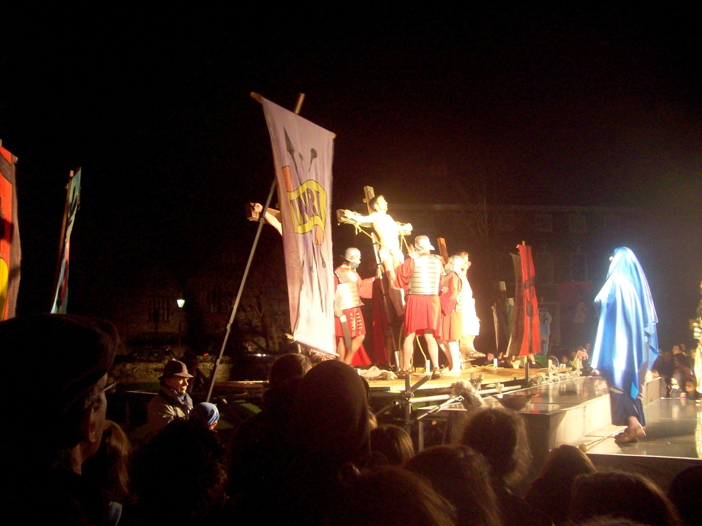 Crucifixion in Salisbury