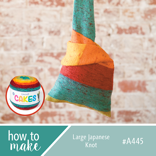 A445 Large Japanese Knot Bag How To Sheet - Cakes Yarn Free Pattern ...