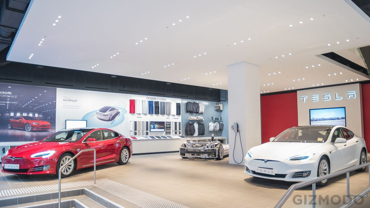 Photos Inside Tesla Motors Brand New Flagship Sydney Store