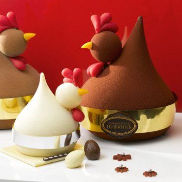Easter chocolate @ café pouchkine