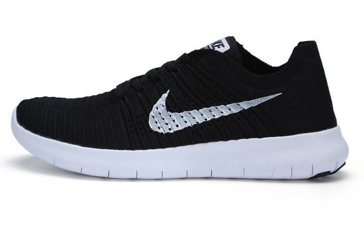 best cheap ccba7 87ce0 Discover ideas about Nike Free. Nike Free RN Flyknit Mens Shoes Black White  831069 001 ...