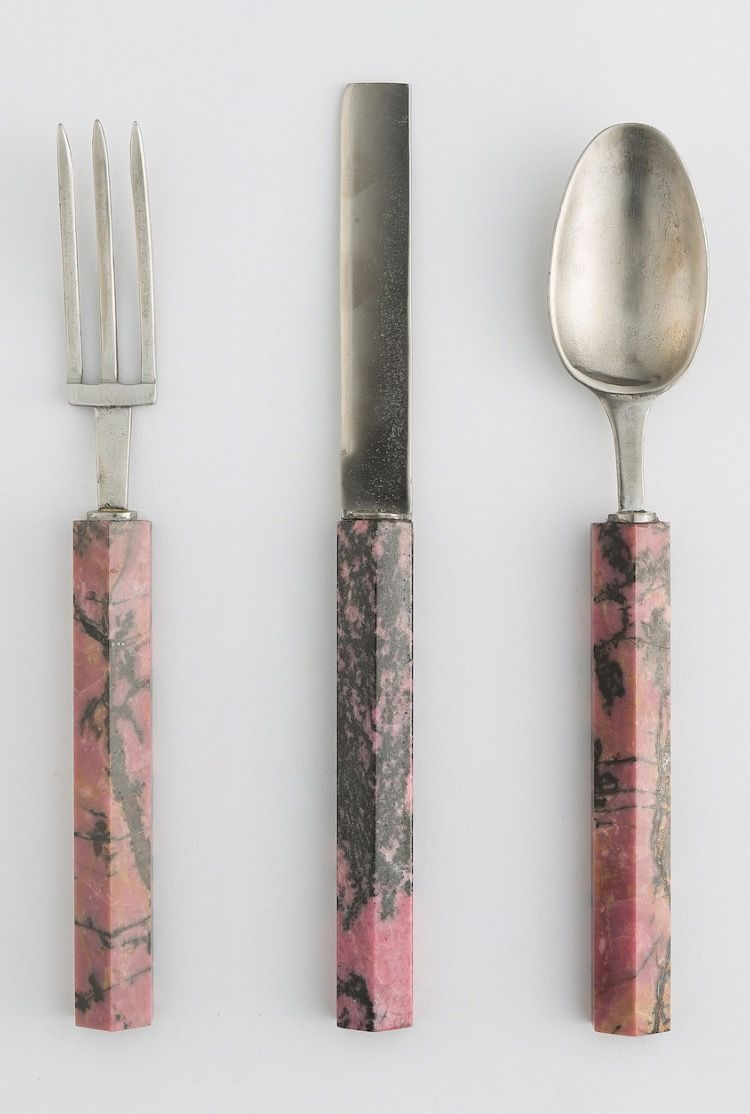 Baciocchi Associati Marble Flatware Tableware Home