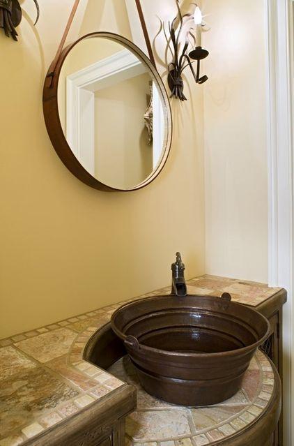 Bucket Sinks Haul Rustic Chic Style Into Bathrooms