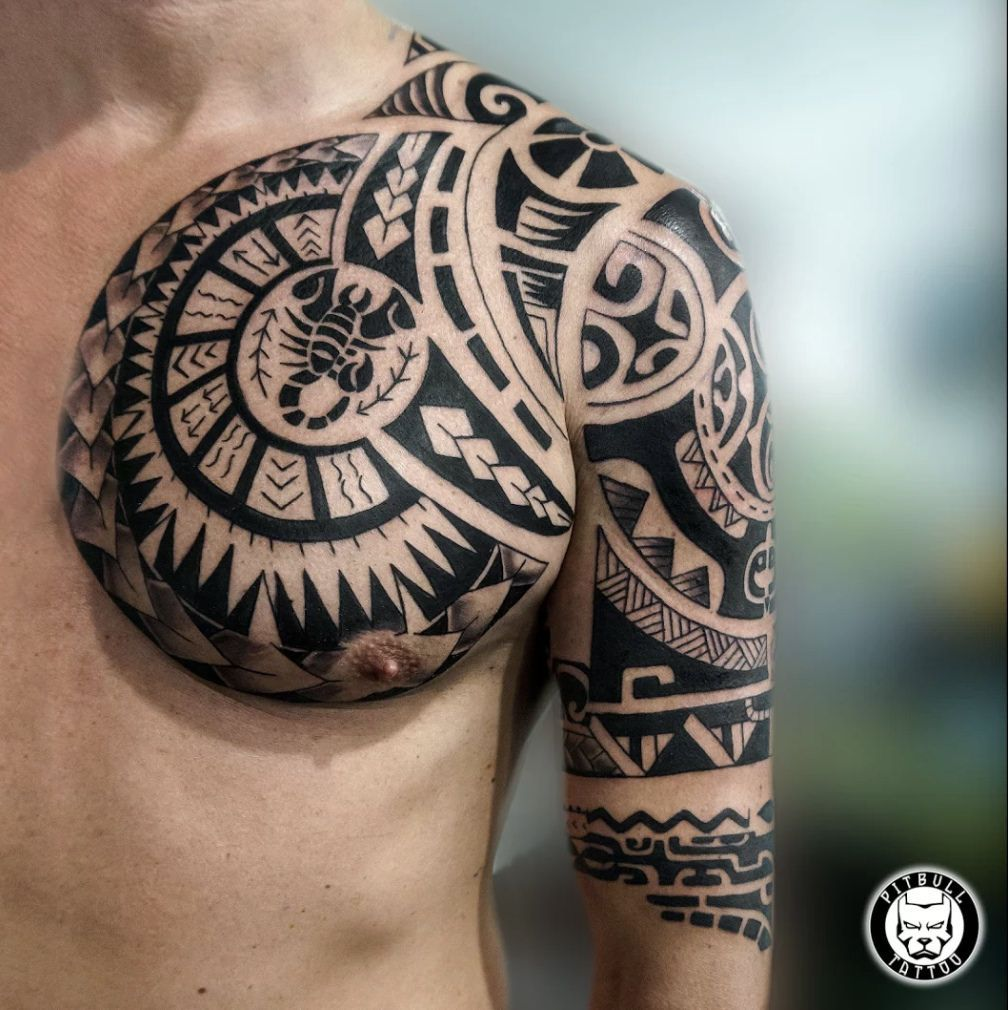 Pin By Mytorius On Believe Tattoo Men: 99+ Mysterious Tribal Tattoos For Men With Meanings & Tips