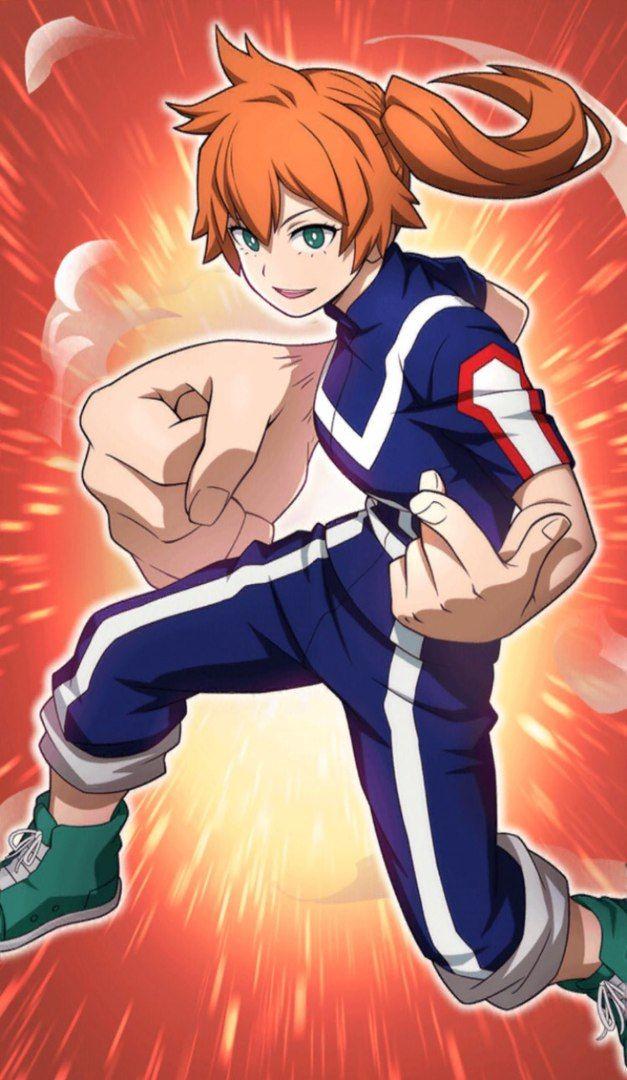 Itsuka Kendo My Hero Academia My Hero My Hero Academia Episodes Hero