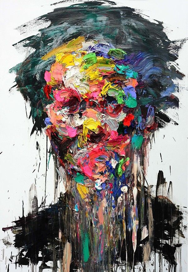 Abstract at its best. Untitled Oil on Canvas by KwangHo