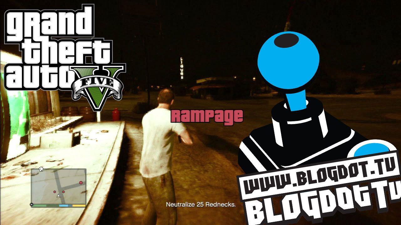 GTA V Trevor Rampage Mode – Gameplay PS3