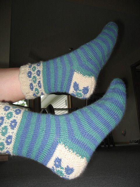d772c29701d83 Ravelry: Winter Garden pattern by Betsy Lee McCarthy Winter Garden,  Knitting Socks, Ravelry