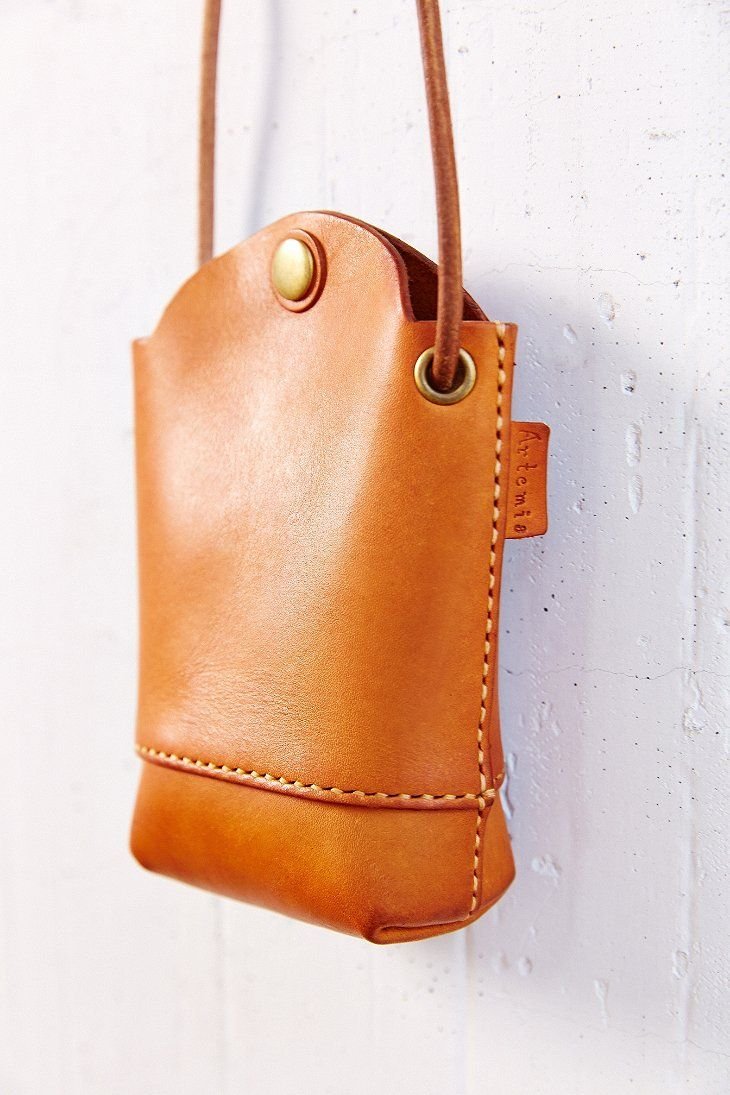 Artemis Leather Shoulder Pouch - Urban Outfitters