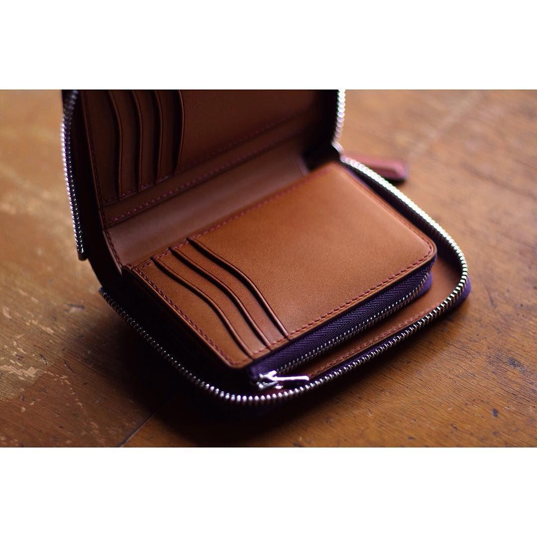 custom order | zip wallet  #bespoke #customorder #leatherwork #leathercraft #buttero_leather #niwaleathers by niwa_leathers