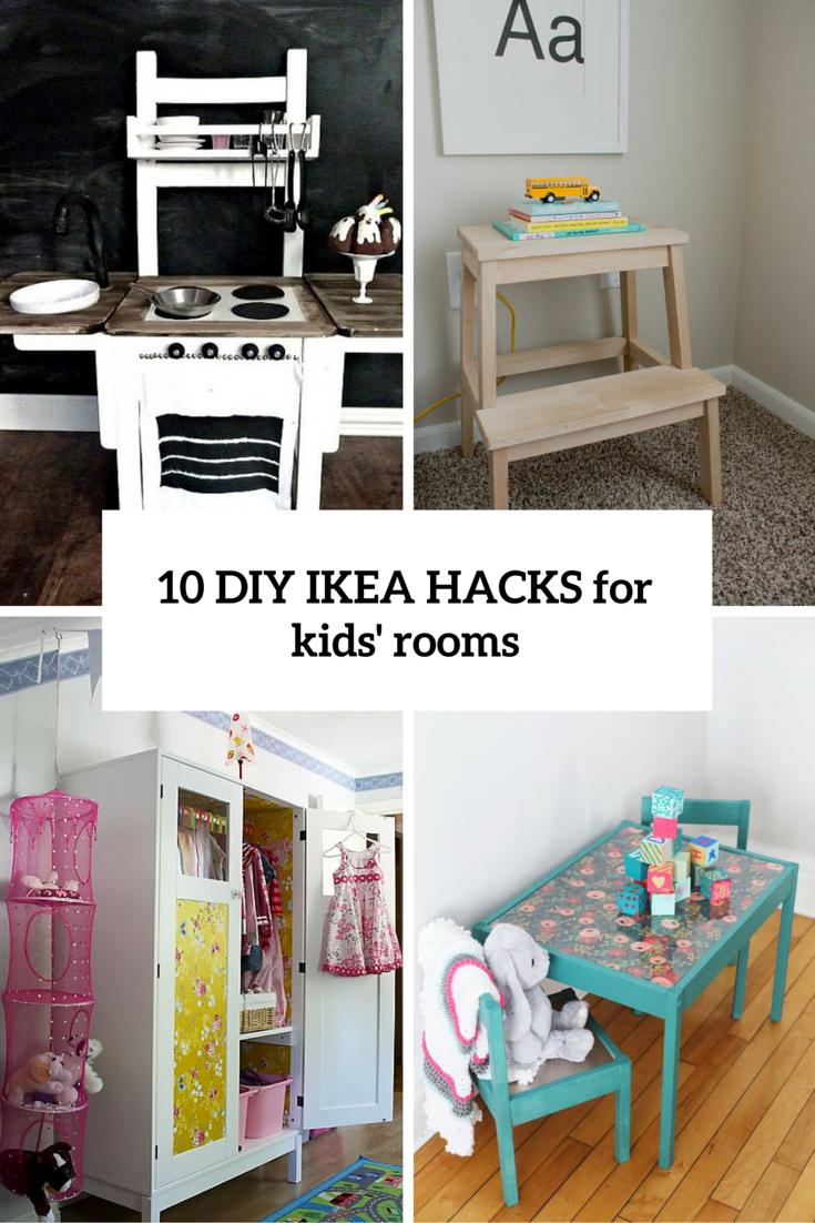 Diy Ikea Furniture Tool Free 10 Diy Ikea Hacks For Kids Rooms