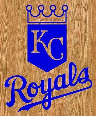KC Royals Cornhole Decals LARGE X Kansas City Bean Bag - Custom vinyl decals kansas city
