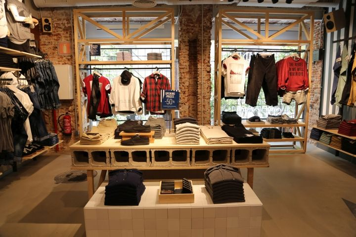 Clothes boutique interior design