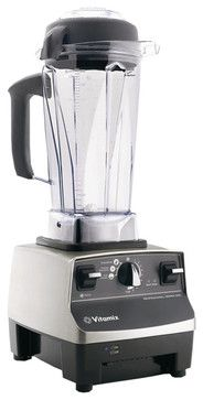 Vita-Mix Professional Series 500 Brushed Stainless Finish Blender contemporary-blenders