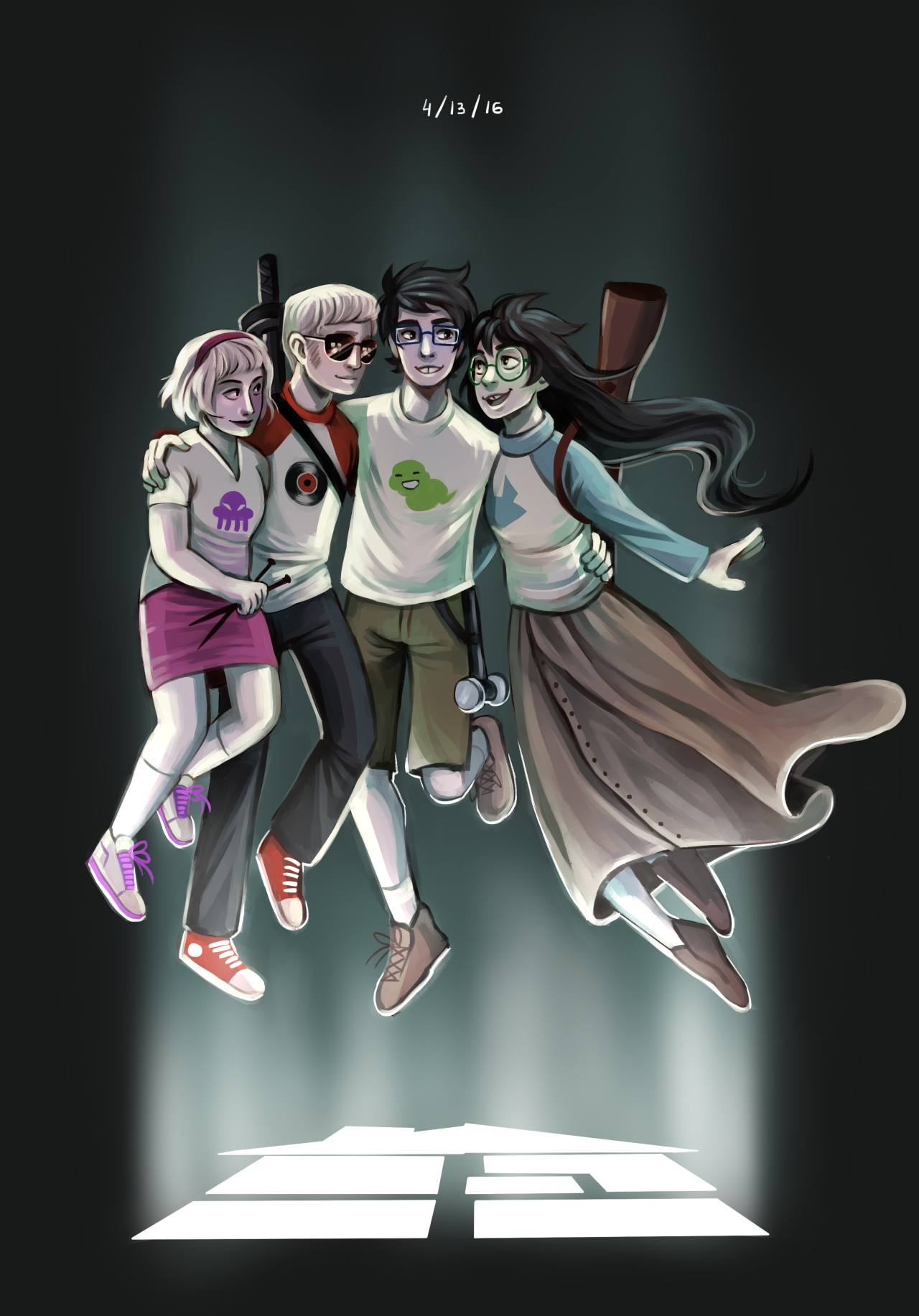 Reader: Go back to the beginningHappy Homestuck day, everyone!
