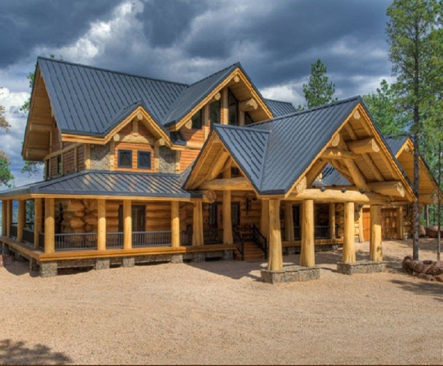 Exterior - Quality Log Cabins and Timber Frame Houses from Latvia ...
