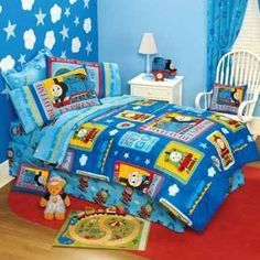 Thomas The Tank Engine Room Decor Train Bedding And Bedroom Ideas For Kids