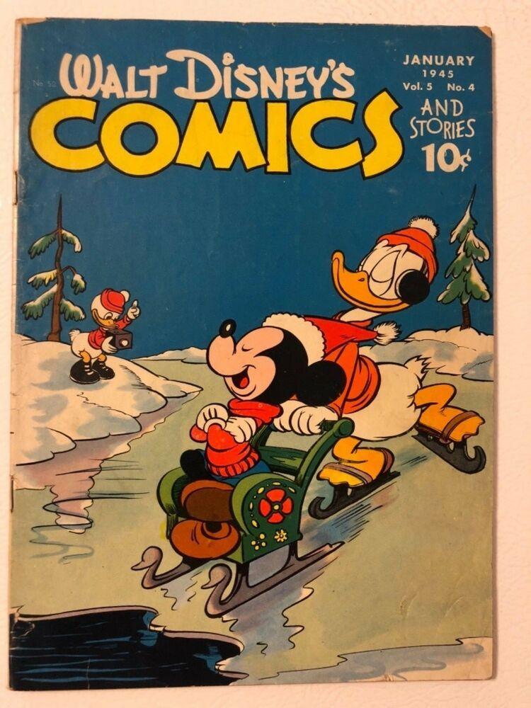 Walt disney s comics and stories golden age classic gd