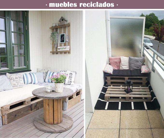 Decoraci n terrazas y balcones decoraci n terrazas for Como decorar un antejardin pequeno