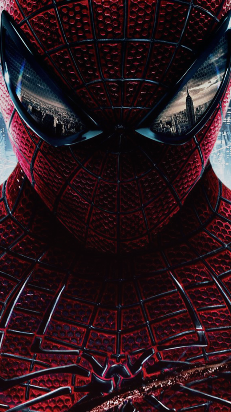 Free iPhone 6 Wallpaper / Backgrounds Spiderman, Amazing